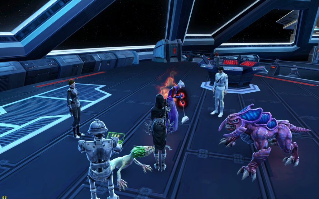 SWTOR Guildmate, @Quinny_Imp cleans up after a Group Mission!