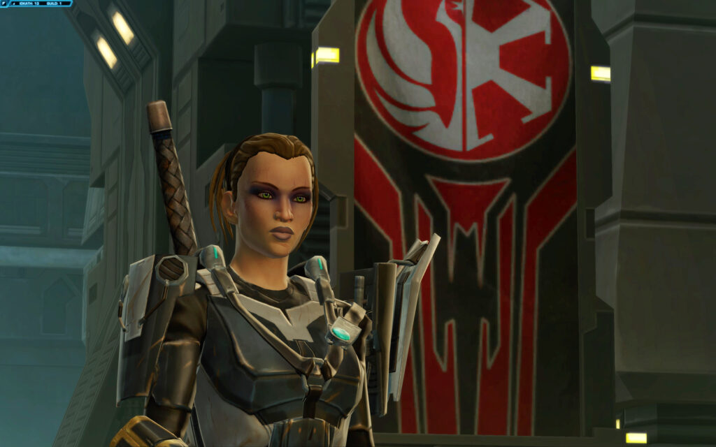 Alekah - neutrally aligned Jedi Guardian