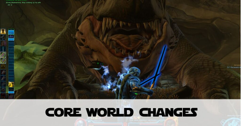 SWTOR Core World Changes in KotFE