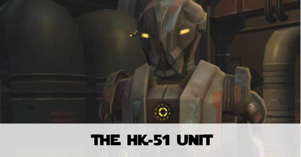 Obtaining the HK-51 Droid in SWTOR