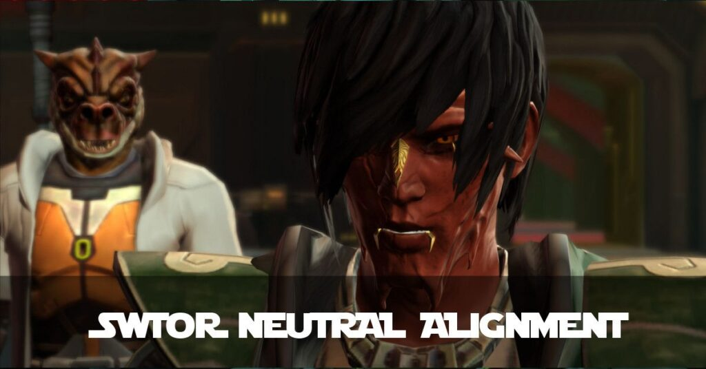 SWTOR Neutral Alignment - a Realistic Target?