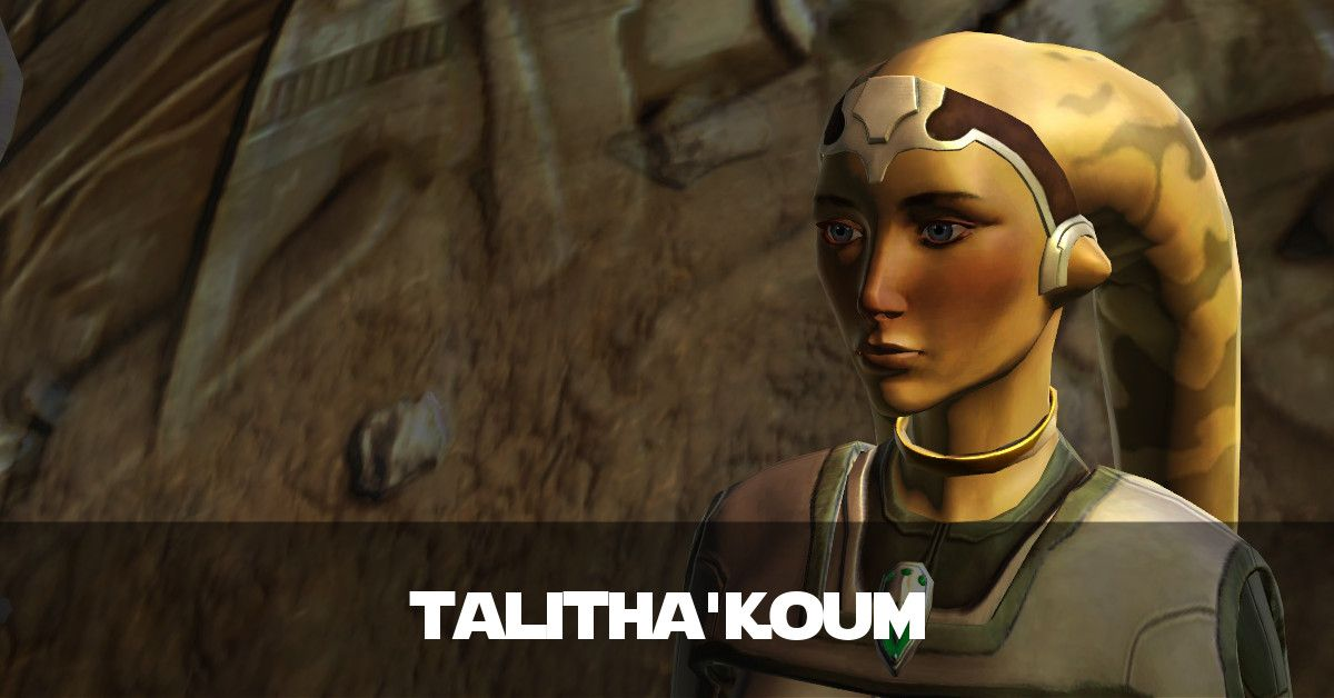 The Trials of Talitha'koum - Sith Healer