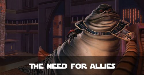 Sjani: The Need for Allies - SWTOR FanFiction