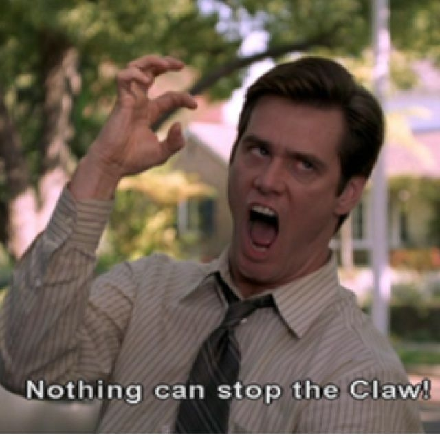 Hand Pain in Fibromyalgia is like the Claw from Jim Carey's Liar Liar