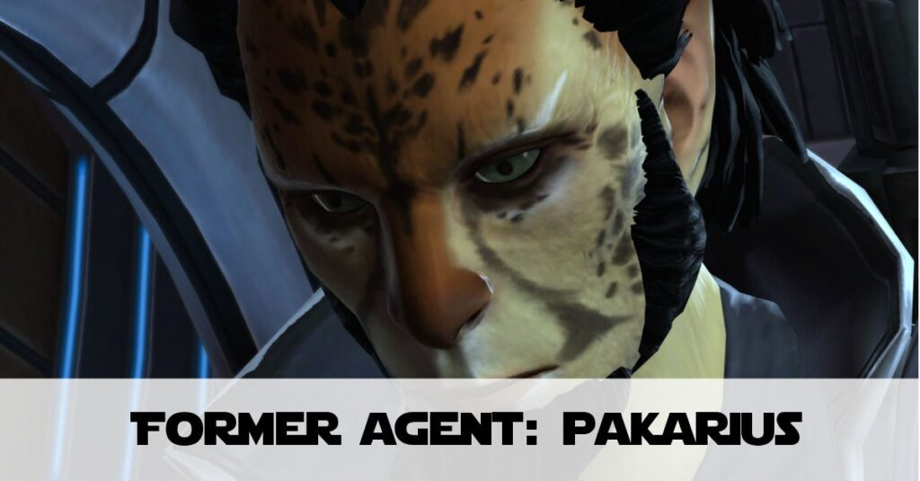 Former Imperial Agent (Cipher 9) - Pakarius: Intelligence File