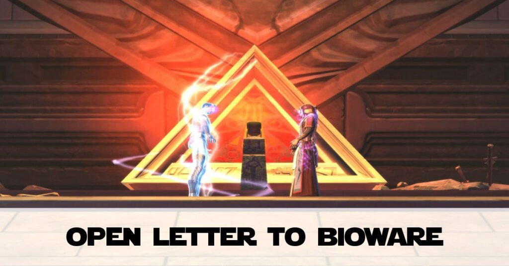 Open Letter to BioWare from a Chronic Pain Gamer