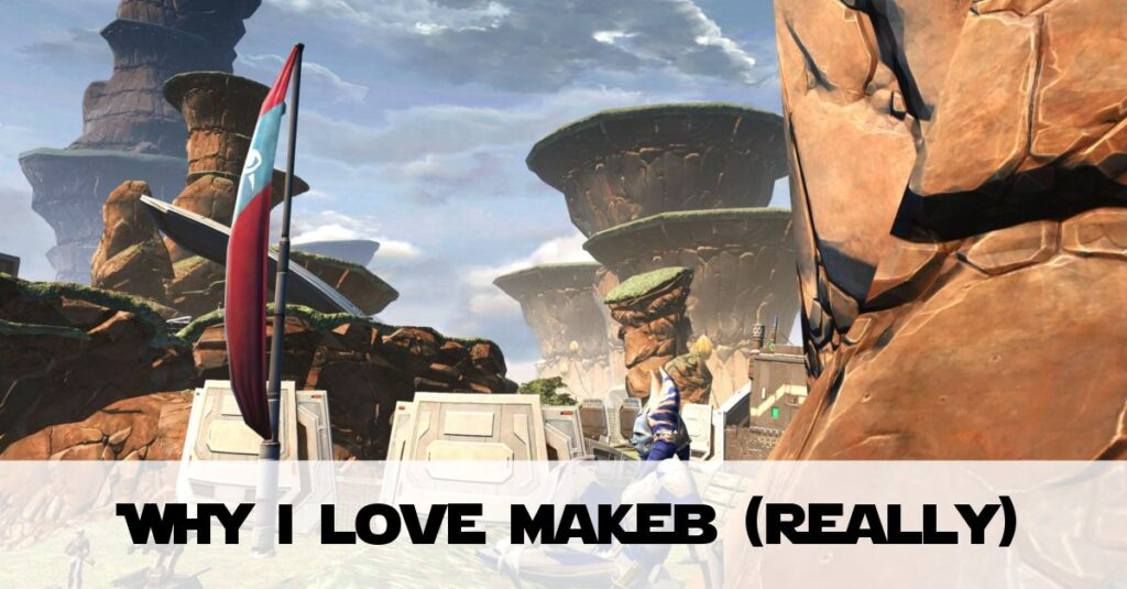 SWTOR Makeb (Rise of the Hutt Cartel): Why it's becoming my favourite planet