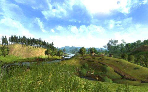 The Shire Can Be Sunny Too
