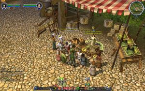 Manning the Market Quest at the LOTRO Farmers Faire