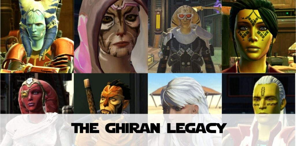 The Ghiran Legacy on SWTOR (Shadowlands)
