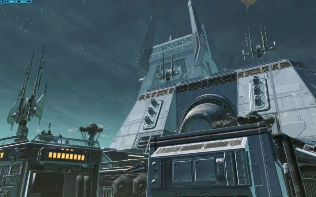 One of the larger structures on Iokath
