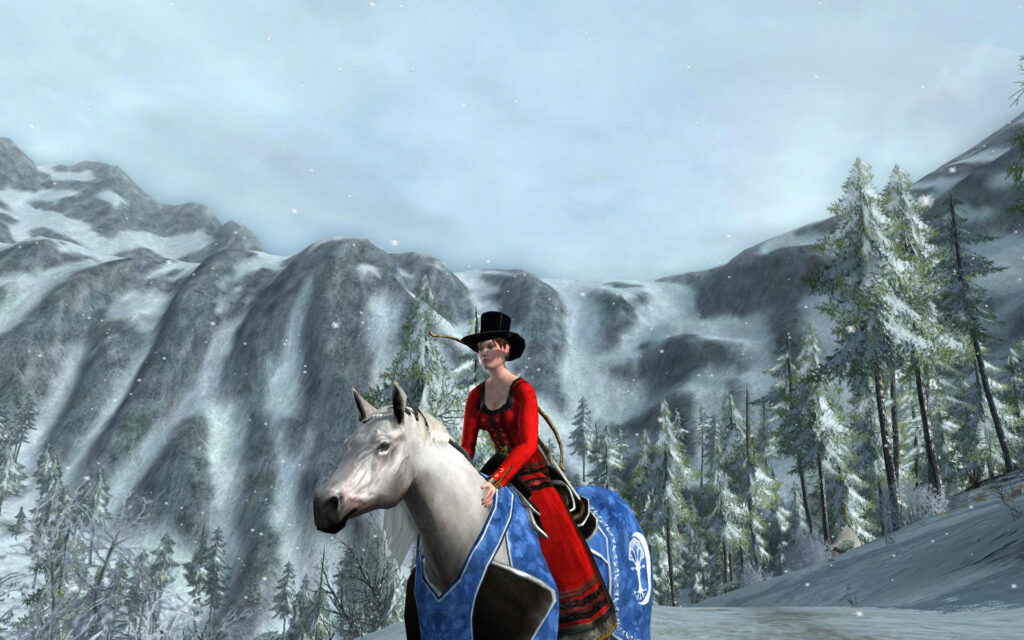 Steed of Ithilien Winters - 2016 Yule Festival Mount