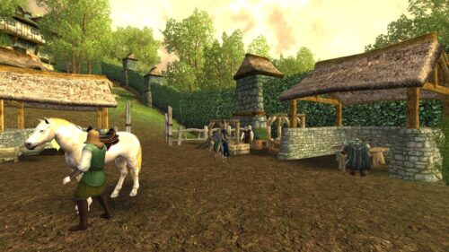Crafting Area near Bree's South Gate