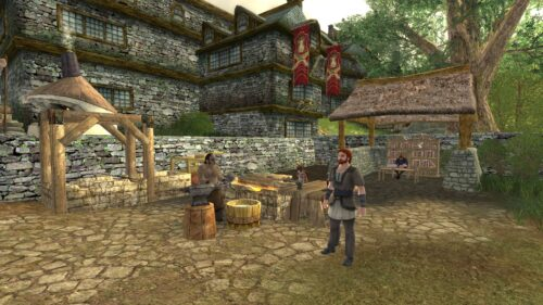 Crafting Area near Bree's West Gate