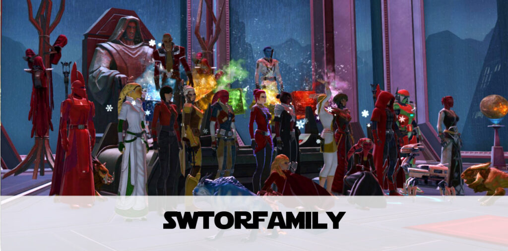 #SWTORfamily: What Should SWTOR Be About? Community.