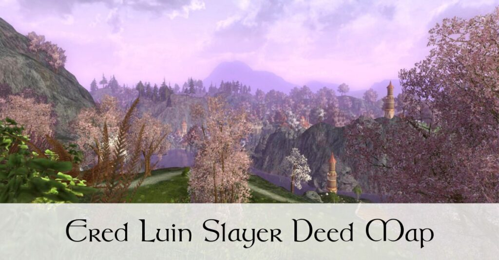 LOTRO Ered Luin Slayer Deed Map [Draft]