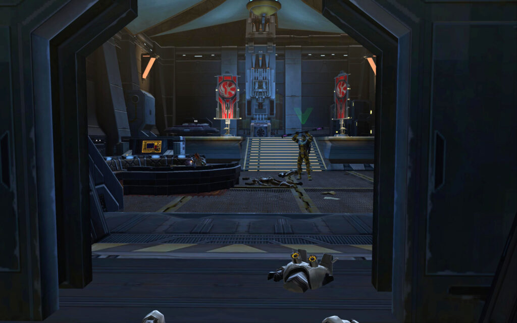 For Allies in Battle, 2 are found in this room in your Alliance Base