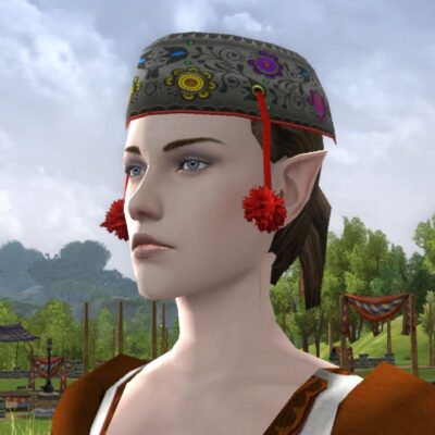 Cap of the Mountain Meadow - Spring Festival Head Cosmetic