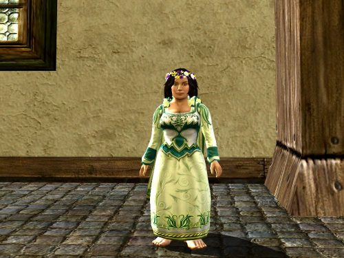Lissuin Dress Outfit Cosmetic