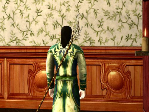 LOTRO Lissuin Cloak (Back) Outfit Cosmetic Reward