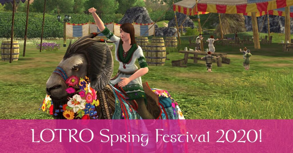 LOTRO Spring Festival 2020 Event Guide: Quests, Mounts, Cosmetics and many other Rewards