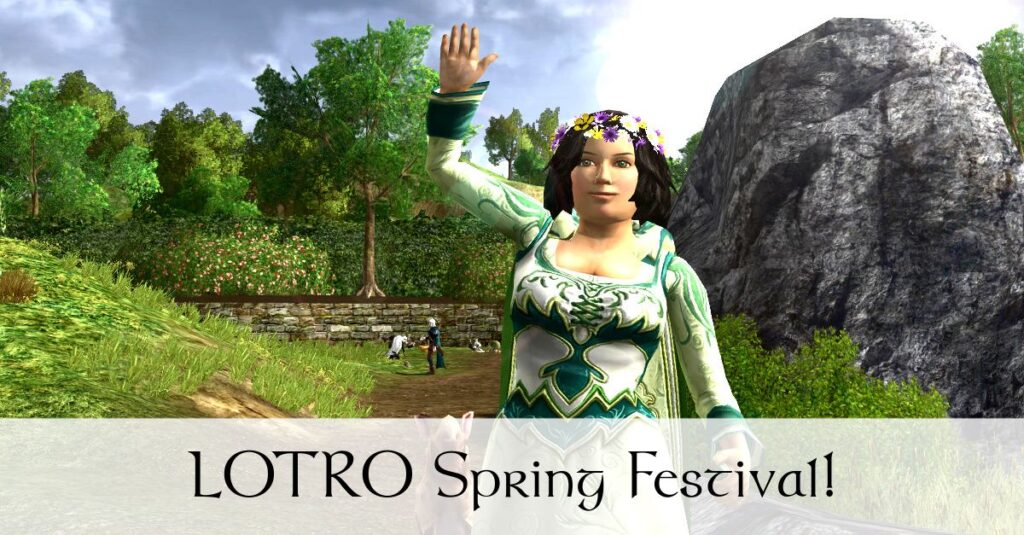 LOTRO Spring Festival 2018 Guide – Events, Hedge-Maze, Mounts and Cosmetics!