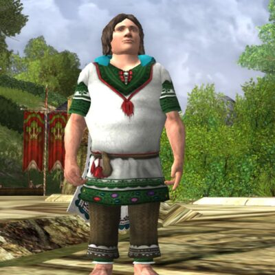 Tunic Set of the Mountain Meadow, Upper Body Cosmetic