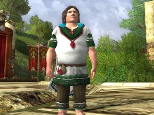 Tunic Set of the Mountain Meadow Cosmetic