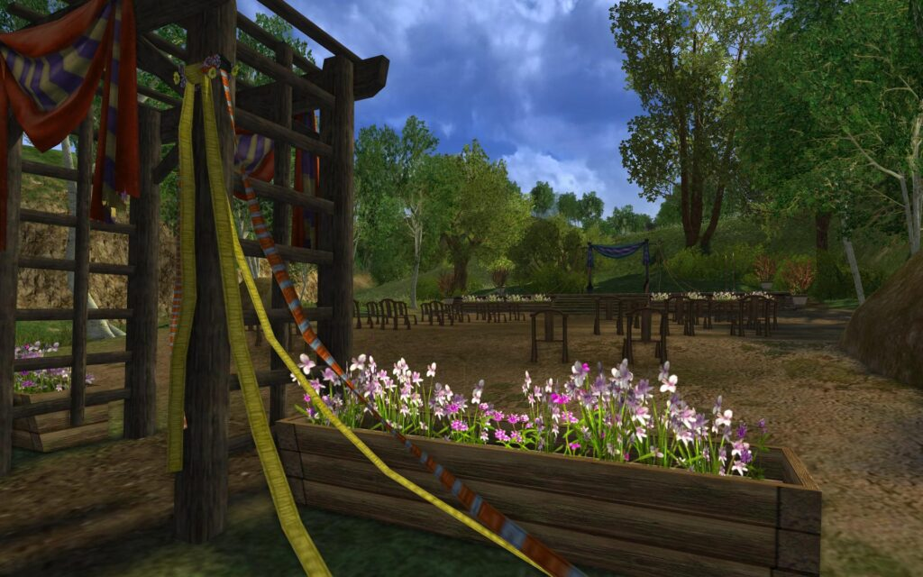 Methel-Stage in the Shire - LOTRO