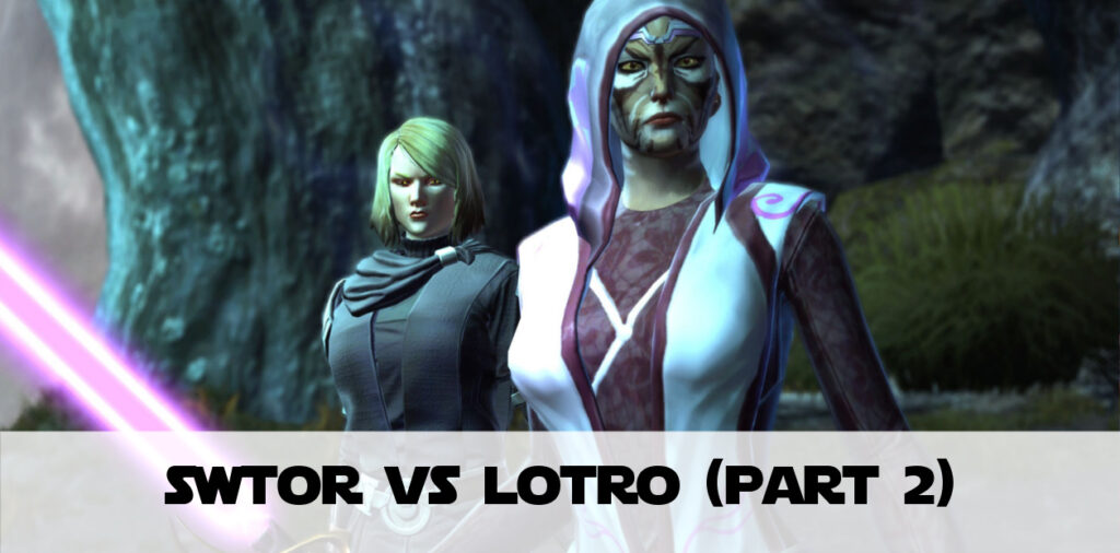 SWTOR vs LotRO (part 2) - What LotRO Could Learn from SWTOR