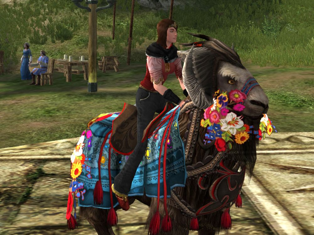 Travelling Goat of the Mountain Meadow Mount - 2019 Spring Festival Reward