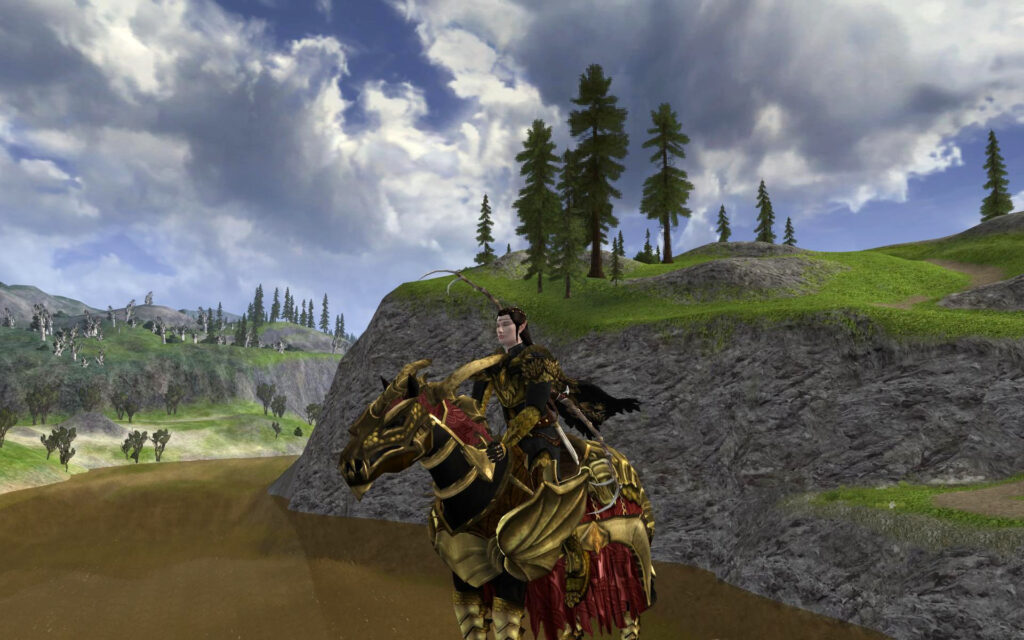 Steed of the Unflagging Dragon - LOTRO Anniversary Mount
