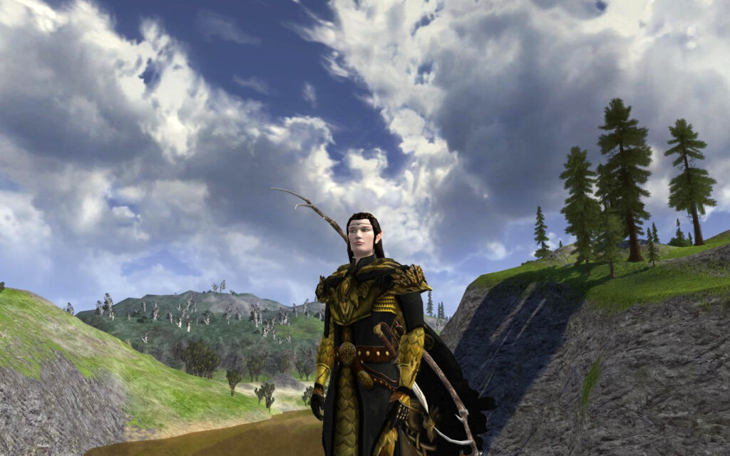Unflagging Dragon Armour Set at the LOTRO Anniversary Event