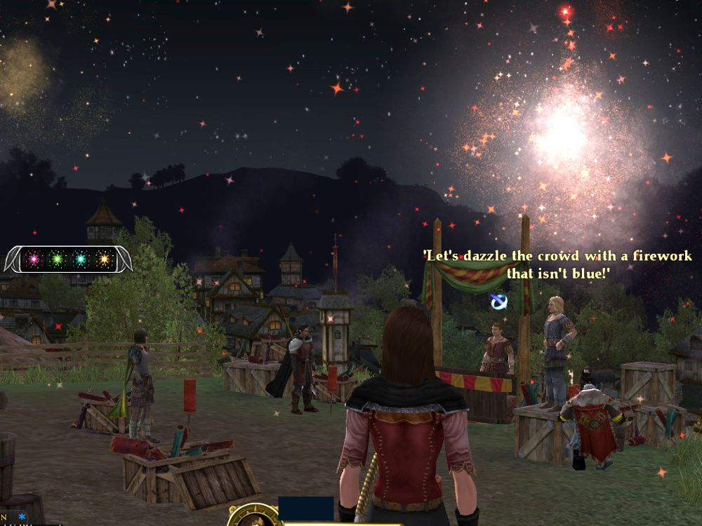Fireworks in Bree - Follow the Instructions