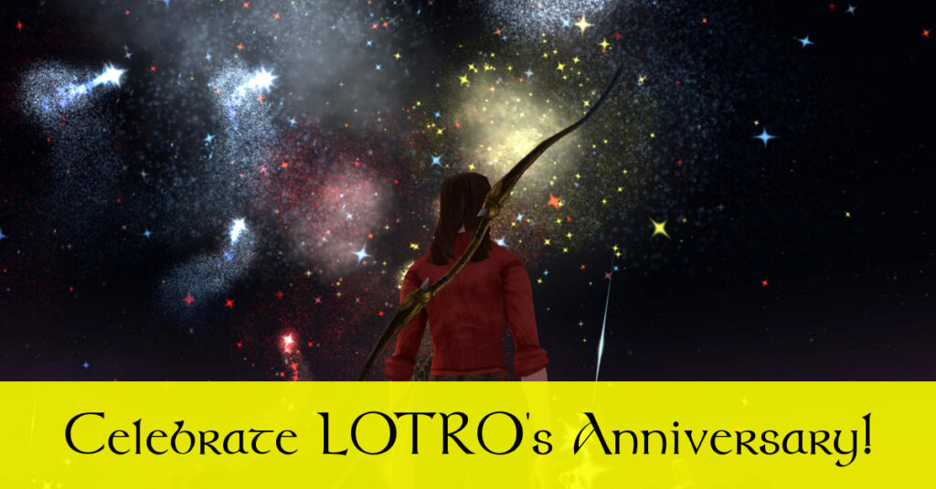 Celebrate the 10th LOTRO Anniversary Event!