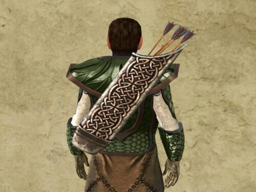 Quiver of the Waking Wood Cosmetic Cosmetic (back) - LOTRO