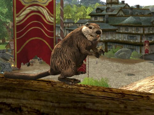 Beaver Pet is Available from the LOTRO Anniversary