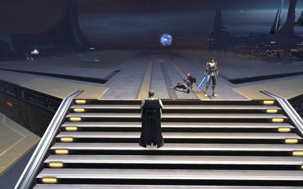 Corrupted Memory: Arcann defends Senya during Battle of Odessen