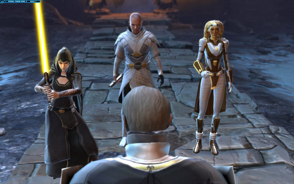 Arcann, Vaylin and Talitha'koum vs Valkorion