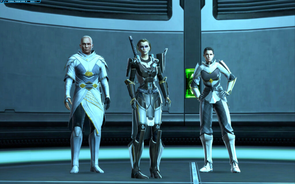 Alekah, Arcann and Senya
