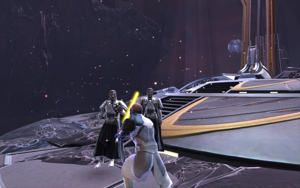 Corrupted Memory: You Help Arcann Strike Down Valkorion