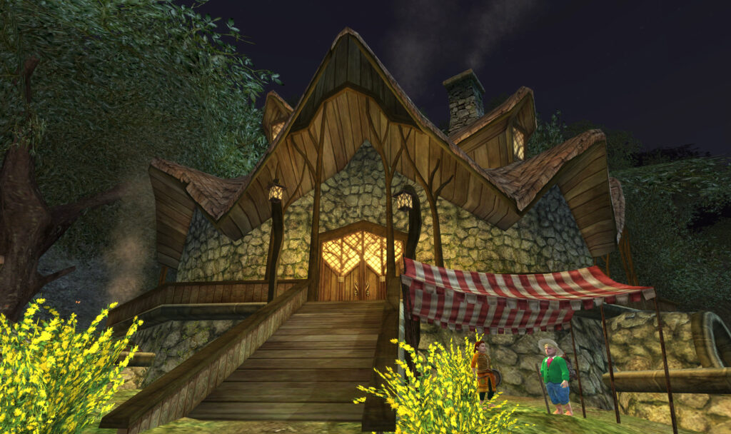 Tom-Bombadil's House in the Old Forest