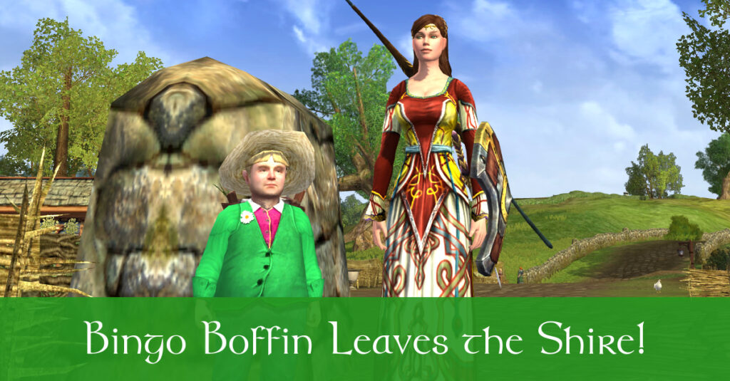 Ballad of Bingo Boffin – Help a Hobbit Leave the Shire!