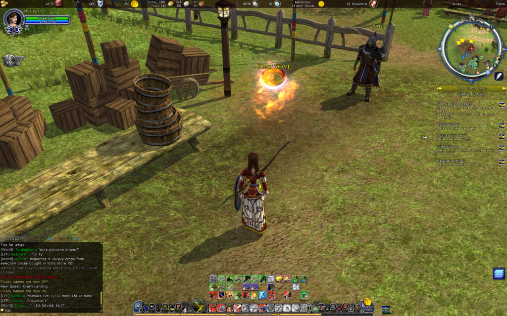How to Defeat the Heat Heatwaves - LOTRO Summer Festival
