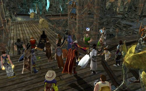 At the Keg Races during LOTRO Summer Festival