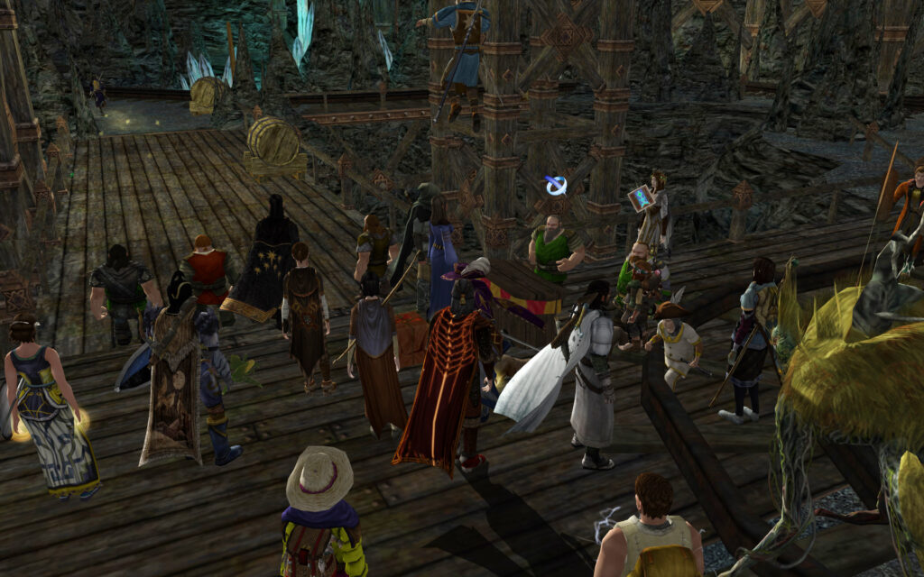 Keg Races at the LOTRO Summer Festival