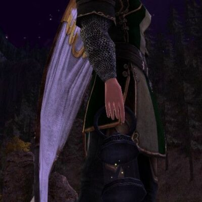 LOTRO Firefly Lantern - Farmers Faire Held Item / Cosmetic Weapon (at Night)