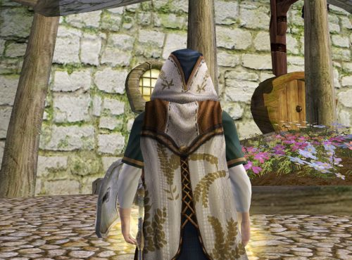 Hooded Cloak of the Harvest