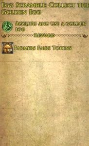 Egg Scramble: Collect the Golden Egg Deed