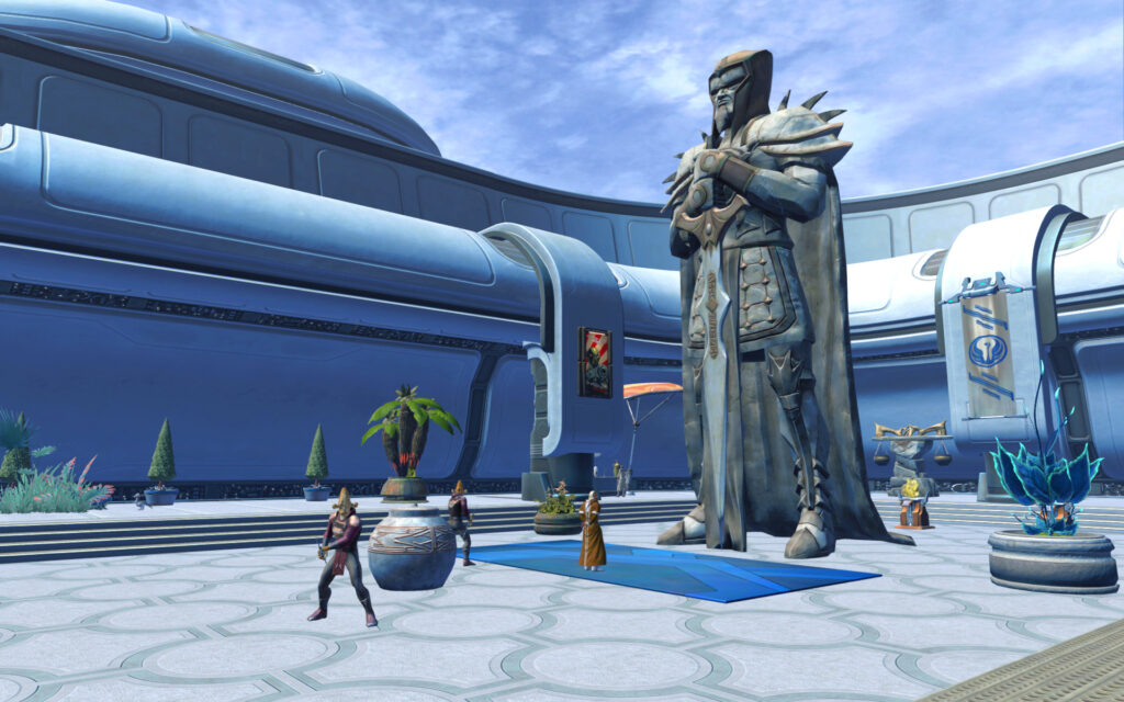 Rooftop Garden (Outside) Manaan Stronghold
